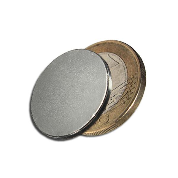 g nstig kaufen 10stk 20mm x 2mm disc seltene erden neodym super starke magnete n35 online. Black Bedroom Furniture Sets. Home Design Ideas