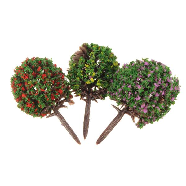 g nstig kaufen 30 mix 3 farben blumen modell kugelb ume zug garden park landschaft online. Black Bedroom Furniture Sets. Home Design Ideas