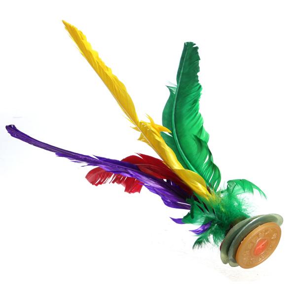 Buy Assorted Feather Chinese Traditional Jianzi Kick
