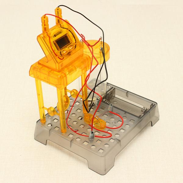 Buy Eastcolight DIY Liquid Powered Clock Science ...