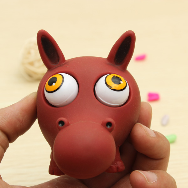 Buy Funny Eye Popping Squeeze Stress Reliever Toy