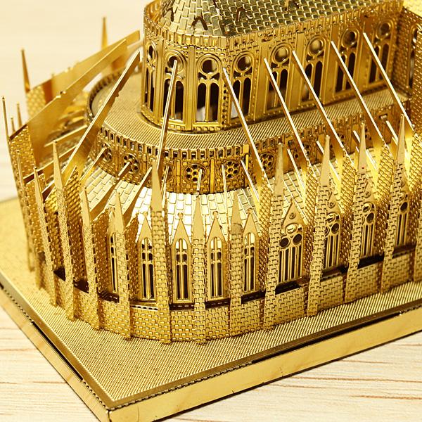 Buy Piececool Notre Dame Cathedral Paris Diy 3d Laser Cut