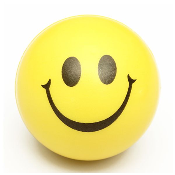 Buy Smiley Face Exercise Stress Relievers Squeeze Ball