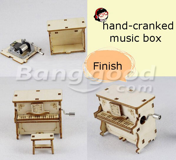g nstig kaufen zakka diy holz assembled handkurbel spieluhr online. Black Bedroom Furniture Sets. Home Design Ideas