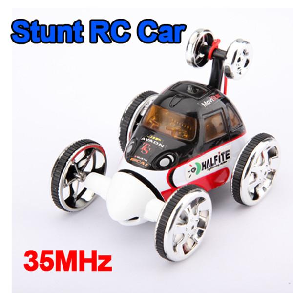 Buy 360 Degree Spin Rc Radio Wheelie Stunt Car Set