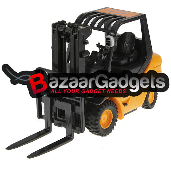 Forklift Truck Controls : Buy mini rc toy forklift radio remote control truck car