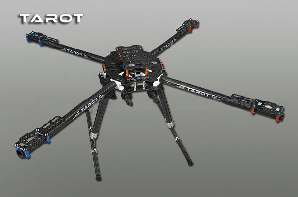 Buy Tarot Ironman 650 Tl65b01 Rack 4 Axis Full Folding Carbon Fiber Rcnhobby Com