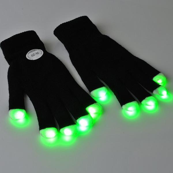 how to make led dance gloves