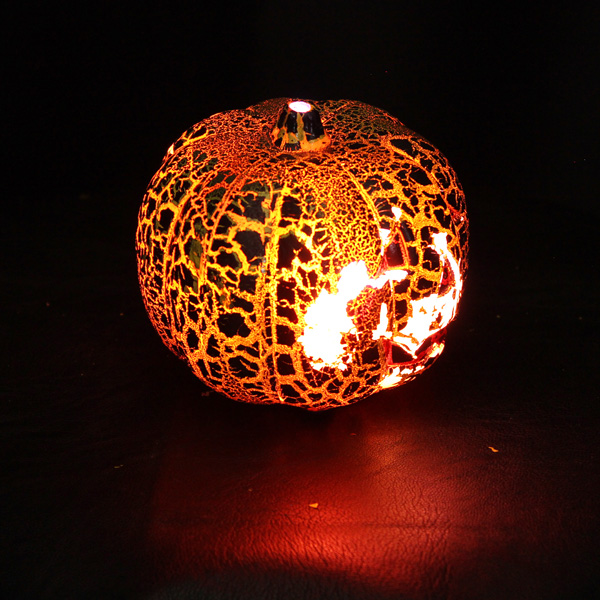 Buy Halloween Crack Pumpkin Lamp Smiling Face Color