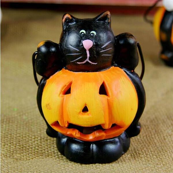 Buy Halloween Decoration Pumpkin Led Color Lights Black