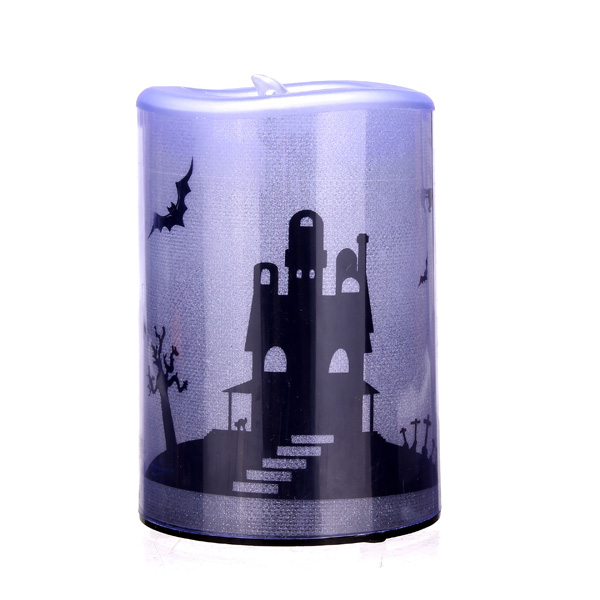 Buy Halloween Led Flicker Candles Battery Operated Witch