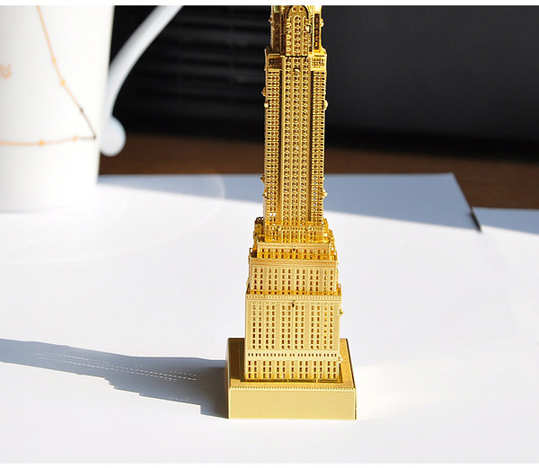 Buy Piececool 3d Assembly Chrysler Building Puzzle Toys