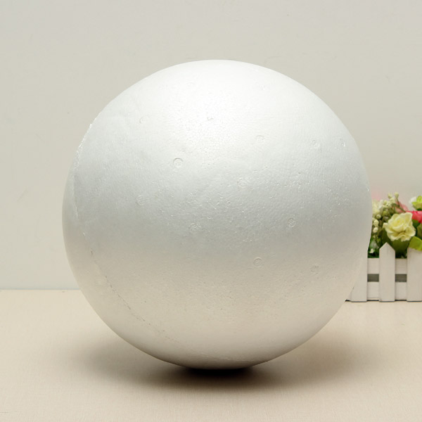 Buy Polystyrene Ball Solid Sphere Halves Craft Party