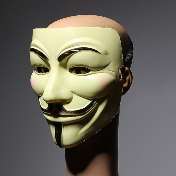 Buy V for Vendetta Face Mask Costume Halloween Christmas ...