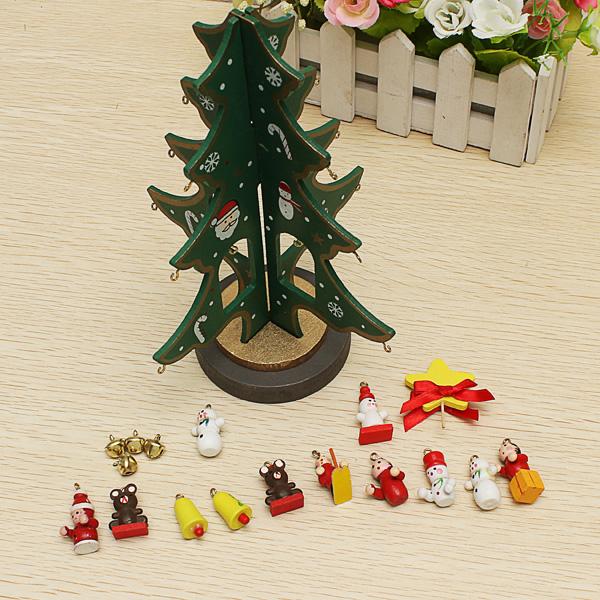 Buy Wooden Christmas Tree Christmas Decorations Novel
